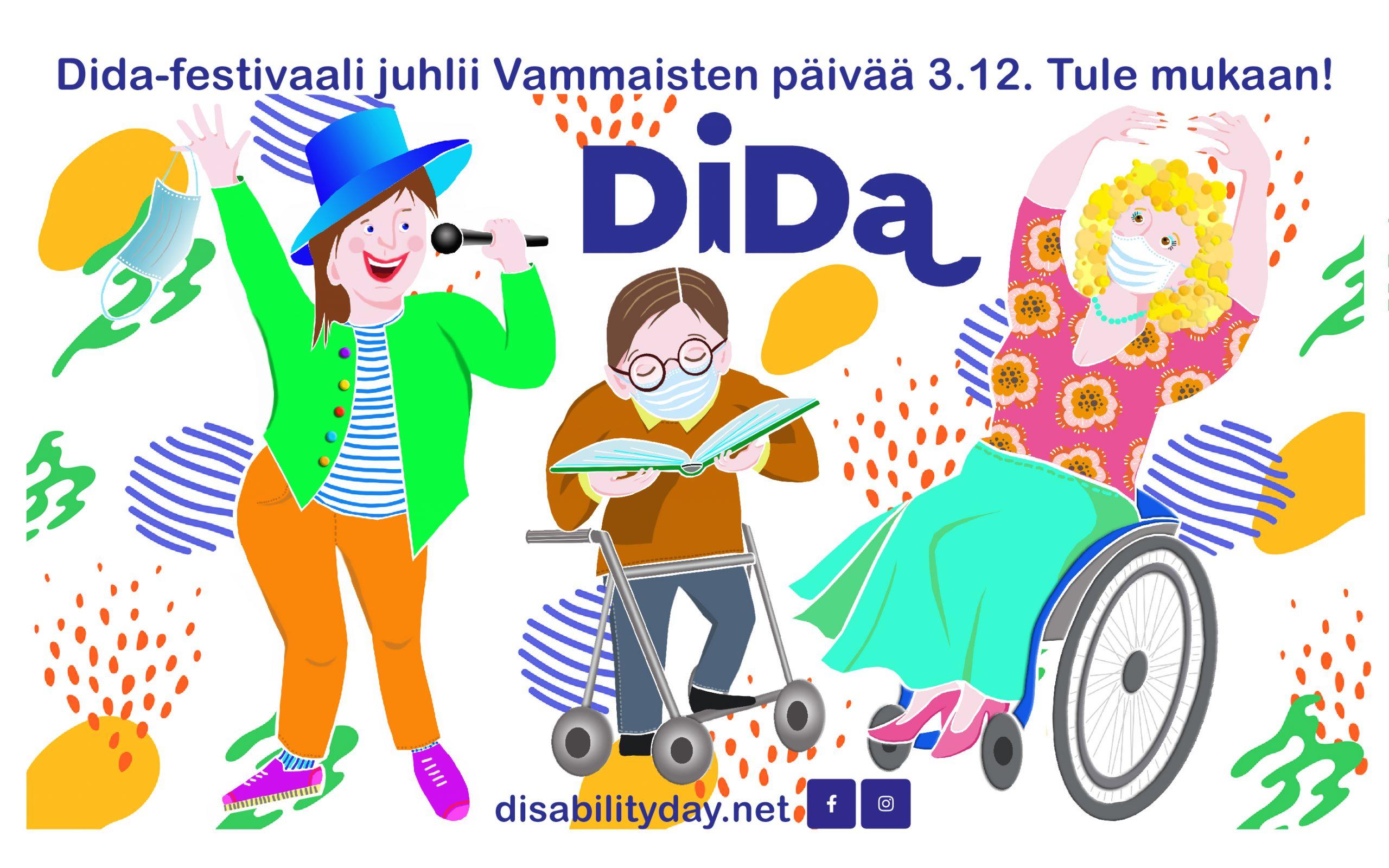 DiDa 2020 – Vammaisten päivän festivaali Zoomissa 3.12.